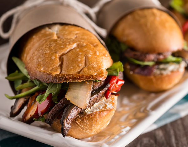 Grilled Veggie Submarine Sandwiches