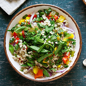 Sweet and Spicy Rice Salad